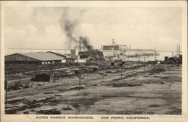 Outer Harvor Warehouses San Pedro California