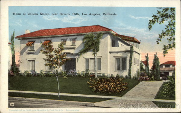 Home of Colleen Moore, Near Beverly Hills Los Angeles California