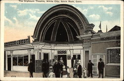The Orpheum Theatre, White City Postcard