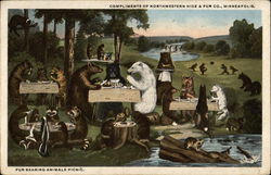 Fur Bearing Animals Picnic