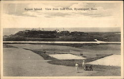 Squaw Island, View from Golf Club