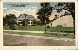 Augusta Memorial Hospital and Shell Mound