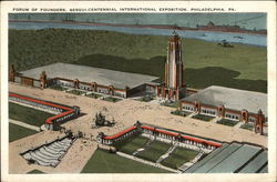 Forum of Founders, Sesqui-Centennial International Exposition