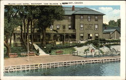 Island View Hotel, Rockport, 1000 Islands Postcard