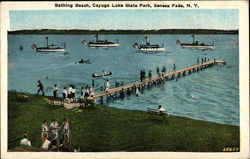 Bathing Beach, Cayuga Lake State Park
