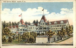 New Hotel Weirs Postcard