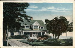 Residence of C.T. Sacket