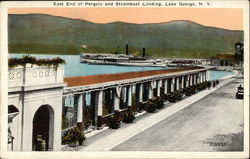 East End of Pergola and Steamboat Landing