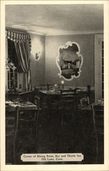 Corner of Dining Room, Bee and Thistle Inn