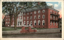 Miller Hall, Women's College, Brown University