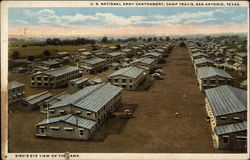 U.S. National Army Cantonment, Camp Travis
