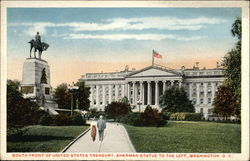 South Front of United States Treasury