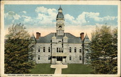 Pulaski County Court House Postcard