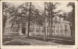 Samuel Bowne Dining Hall, Drew Drew Theological Seminary Postcard