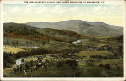 The Ottauquechee Valley and Green Mountains