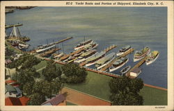 Yacht Basin and Portion of Shipyard