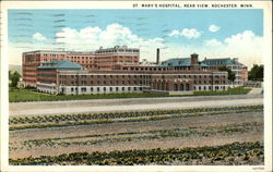 St. Mary's Hospital - Rear View