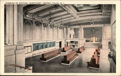 Interior of Station at Pawtucket
