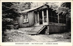 Henderson Camps, Big Wood Lake