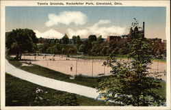 Rockefeller Park - Tennis Grounds