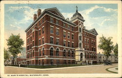St. Mary's Hospital Postcard