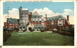 Pickwick Arms Hotel, John W. Heath, Manager Postcard
