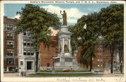 Soldier's Monument, Masonic Temple and Y.M.C.A