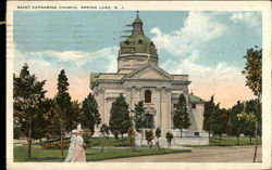Saint Catharine Church Postcard