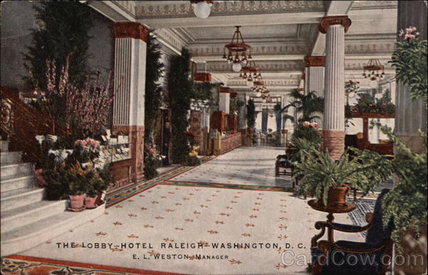 The Lobby Hotel Raleigh Washington District of Columbia