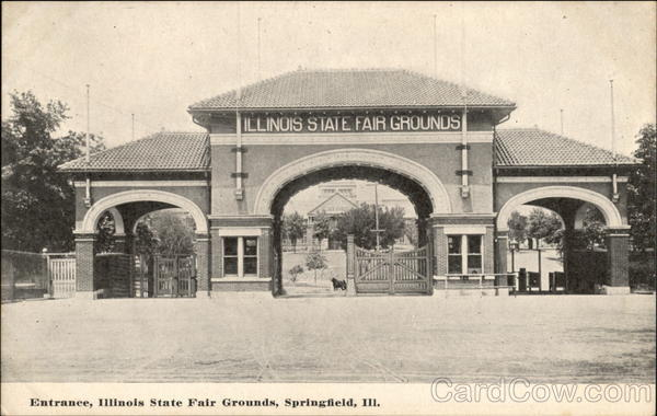 Entrance, Illinois State Fair Grounds Springfield