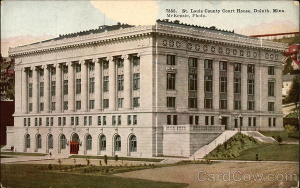 St. Louis County Court House Duluth Minnesota