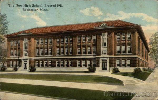 The New High School Rochester Minnesota