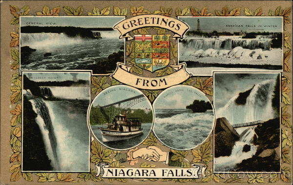 Greetings from Niagra Falls Ontario Canada Misc. Canada