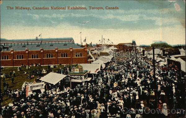 The Midway, Canadian National Exhibition Toronto Canada