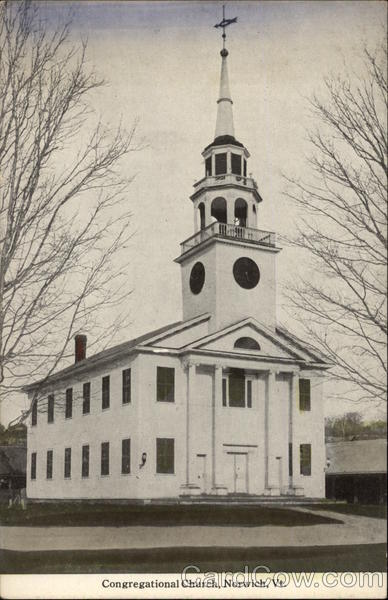 Congregational Church Norwich Vermont
