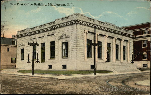 New Post Office Building Middletown New York