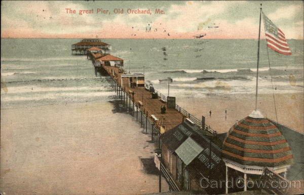 The Great Pier Old Orchard Beach Maine
