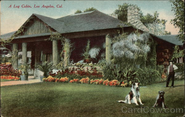 A Log Cabin Los Angeles California