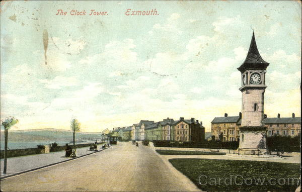 The Clock Tower Exmouth England