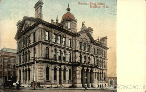 General Post Office Halifax Canada Nova Scotia