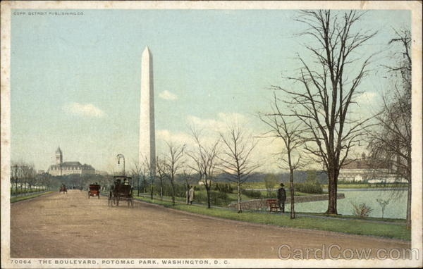 The Boulevard, Potomac Park Washington District of Columbia