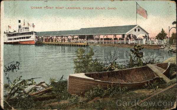 Cedar Point Boat Landing Ohio