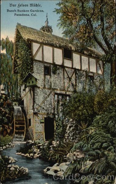 Busch Sunken Gardens Pasadena Ca