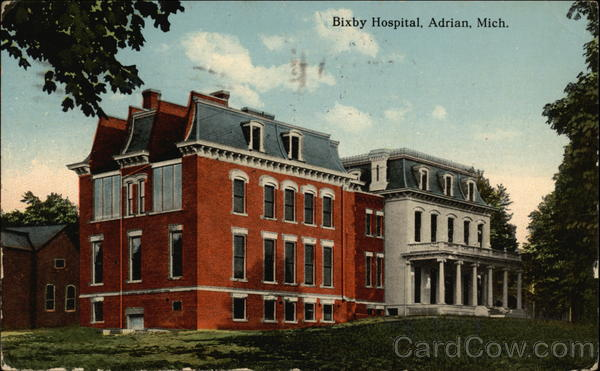 Bixby Hospital Adrian Michigan