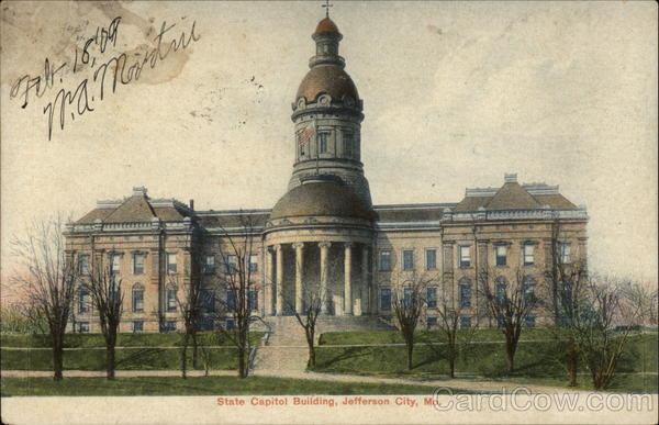 State Capitol Building Jefferson City Missouri