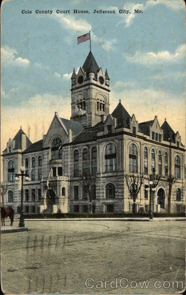Cole County Court House Jefferson City Missouri