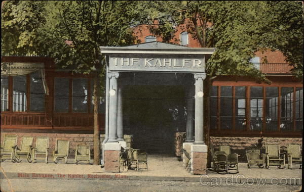 The Kahler - Main Entrance Rochester Minnesota