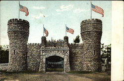 Entrance Gate into Point Park, Lookout Mountain
