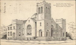 Design for the First Methodist Episcopal Church