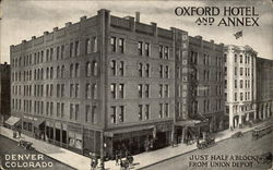 Oxford Hotel and Annex - Just Half a Block from Union Depot